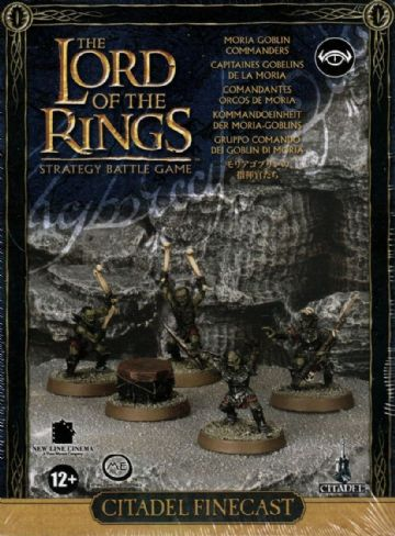 Games Workshop Warhammer The Lord Of The Rings Moria Goblin Commanders 11-43